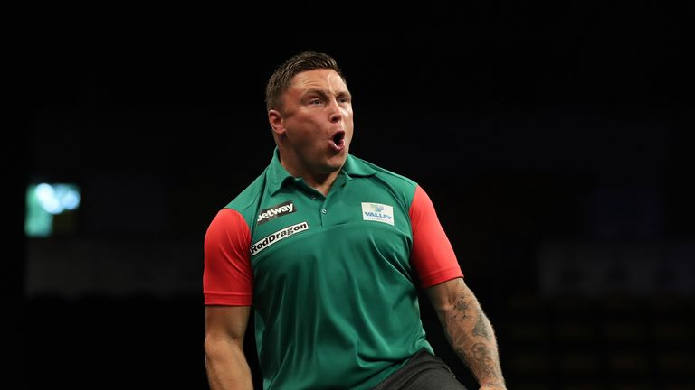 Gerwyn Price will replace Adrian Lewis for the World Series of Darts events