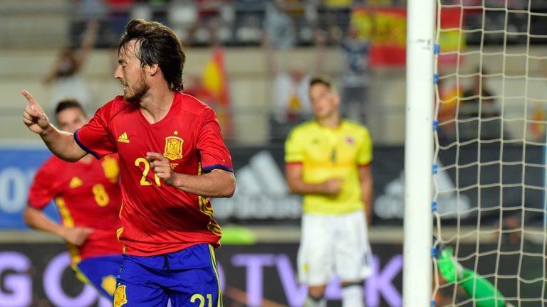David Silva scored for Spain