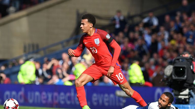 Alli has the chance to star for England at the 2018 World Cup in Russia