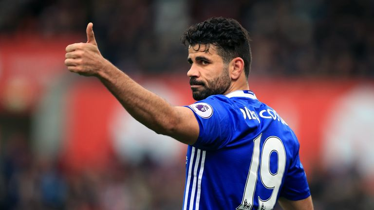 Diego Costa has been linked to a move to Everton but Ronald Koeman was coy on the potential transfer