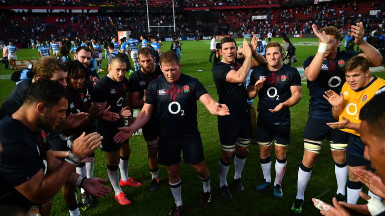 Hartley led England to a 2-0 series win in Argentina in June