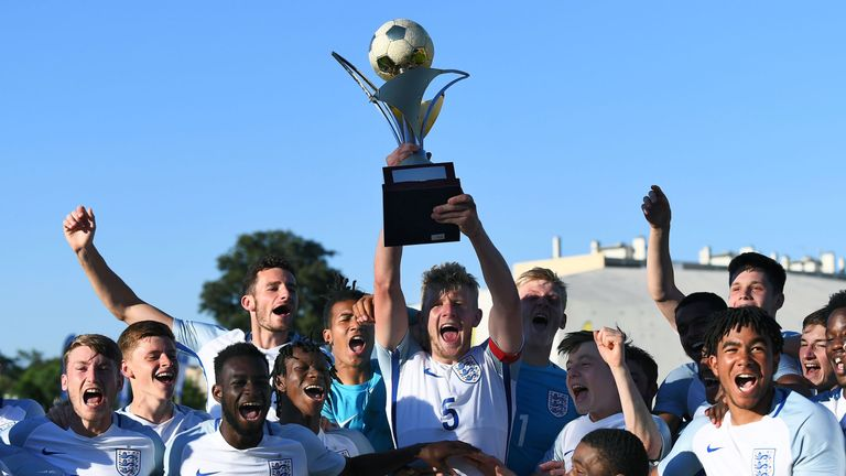 England have won the Toulon Tournament in the last two years