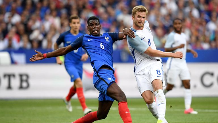 France won the midfield battle as Paul Pogba impressed