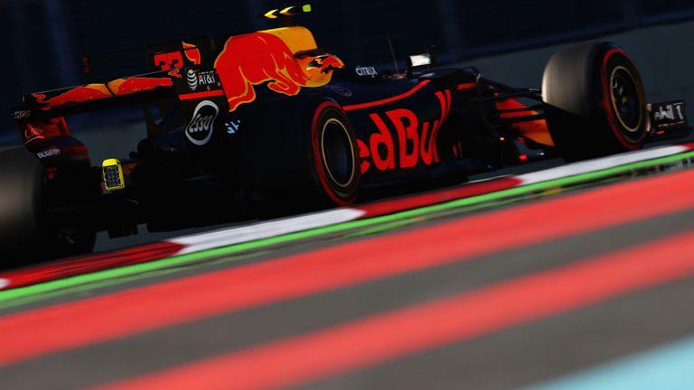Verstappen tops Azerbaijan GP practice
