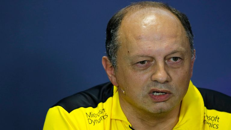 Sauber names ex-Renault's Vasseur as team principal