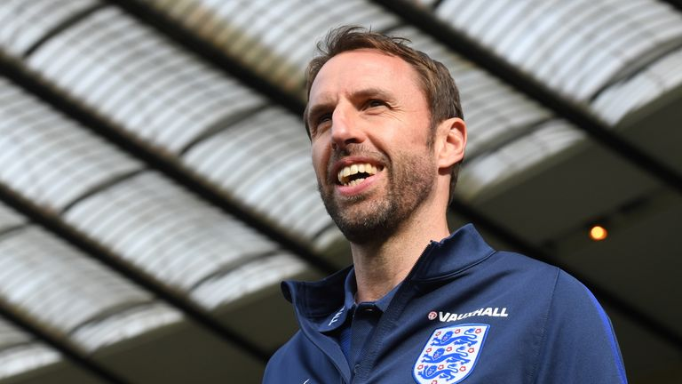England manager Gareth Southgate believes it is a squad ' to be excited about'