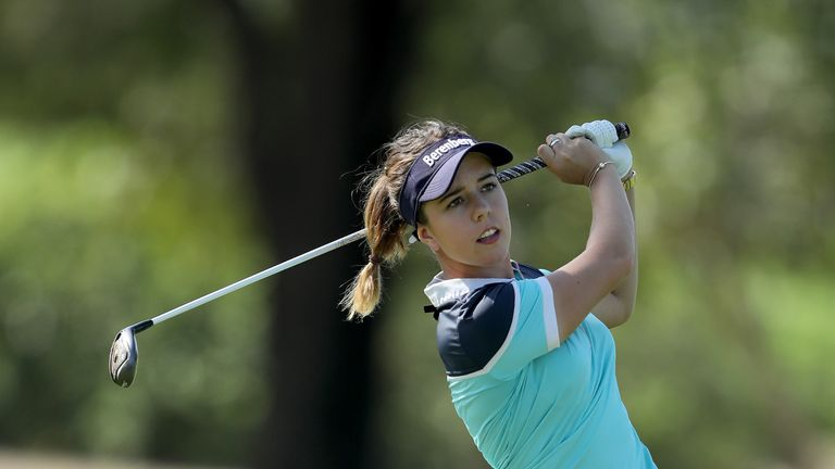 Young English talent Georgia Hall goes into the fourth major of the year in good form
