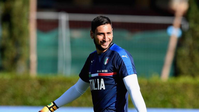 Man Utd are reportedly considering a summer swoop for Milan goalkeeper Gianluigi Donnarumma