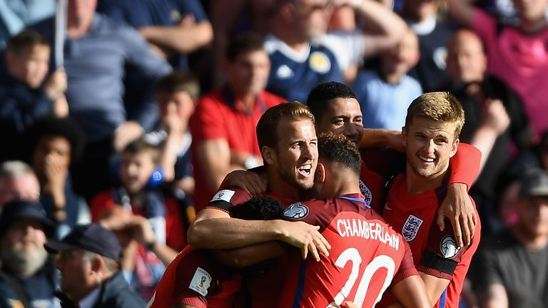 Harry Kane rescued a point for England against Scotland at Hampden Park in June
