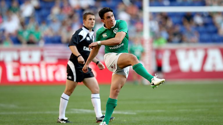Joey Carbery had a mixed day for Ireland