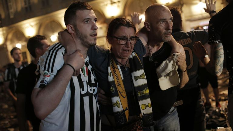 Juventus Fans Injured at Gathering in Turin After Bomb Scare