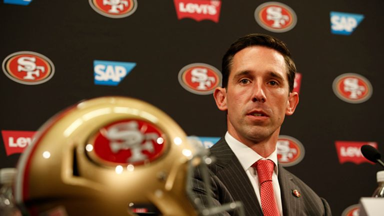 Head coach Kyle Shanahan is going to rebuild the 49ers attack