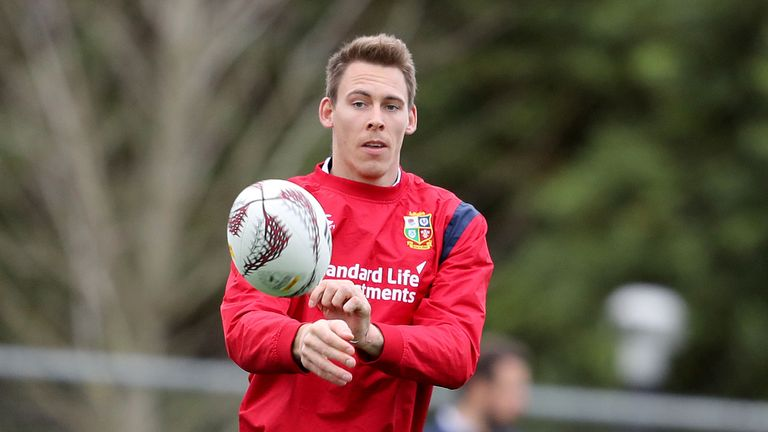 Liam Williams is one of several Lions targeting a spot in the first Test