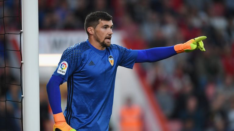 Brighton & Hove Albion announce signing of Valencia goalkeeper Mathew Ryan