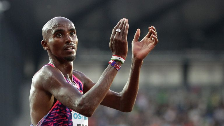 Farah cruise to victory in London despite doping allegations