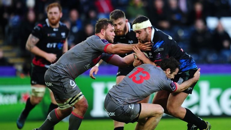 The 23-year-old has developed into a key cog in the Ospreys team