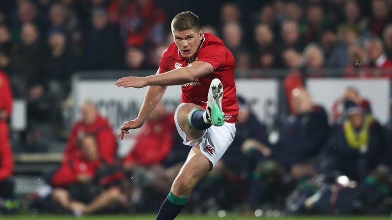 Owen Farrell is fit and ready to start the first Test for the Lions, says Warren Gatland