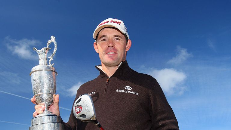 Padraig Harrington won the second of his two Open titles in 2008