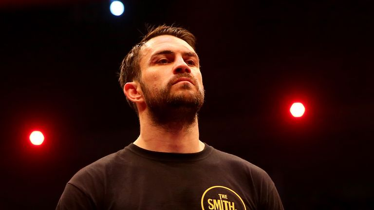 Paul Smith, a three-time world title challenger, retired with a record of 38-7
