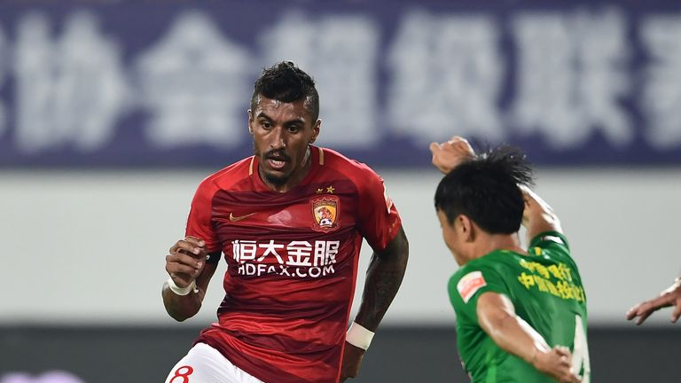 Paulinho has reportedly joined Barcelona, two years after leaving Tottenham for Guangzhou Evergrande
