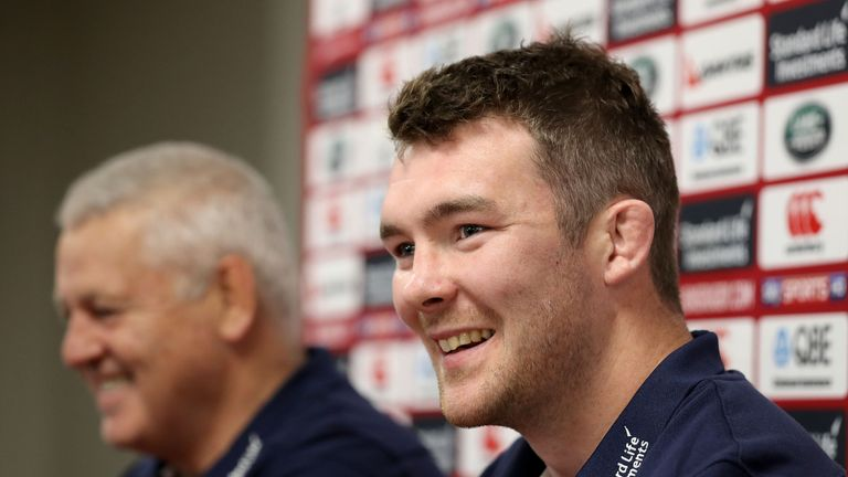 O'Mahony captained the Lions against the Maori All Blacks last Saturday