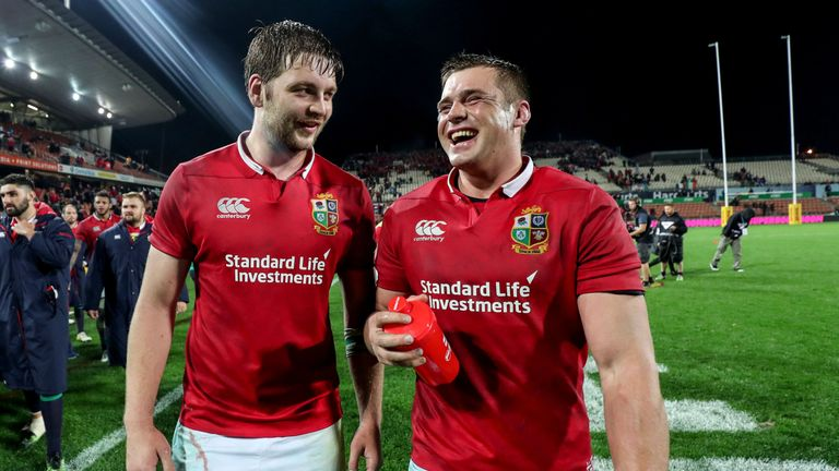 Iain Henderson and CJ Stander both impressed during the Lions' victory in Hamilton