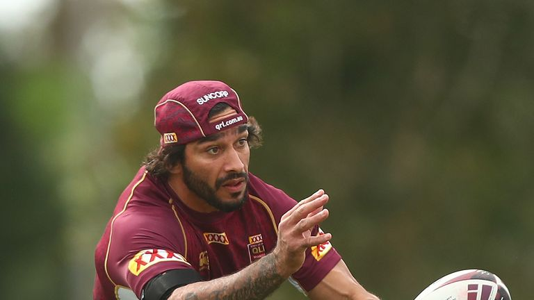 Johnathan Thurston returns at stand-off for Queensland's trip to ANZ Stadium