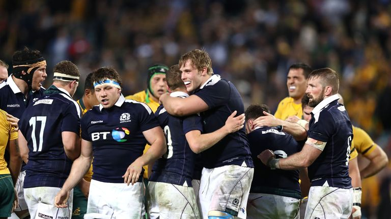 Victory over the Wallabies saw Scotland rise to fourth in the world