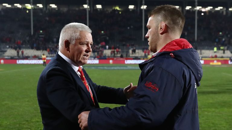 Warren Gatland has repeatedly praised the performances of the openside on tour
