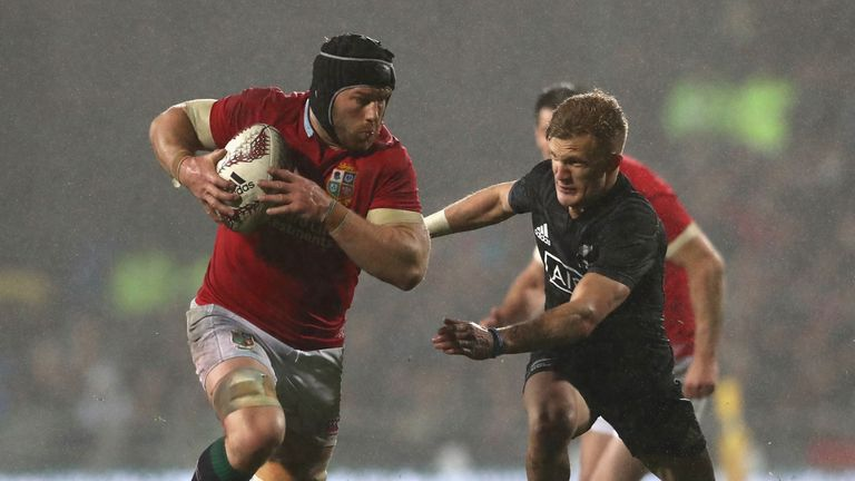 The openside flanker was one of the standout players on the pitch in the second Test victory
