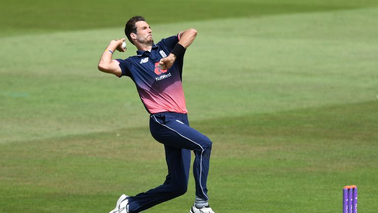 England's Steven Finn took his best T20 Blast figures in Middlesex's win over Gloucestershire