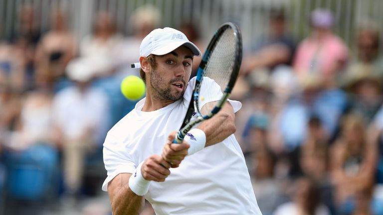Jordan Thompson will face top-ranked Andy Murray on Tuesday