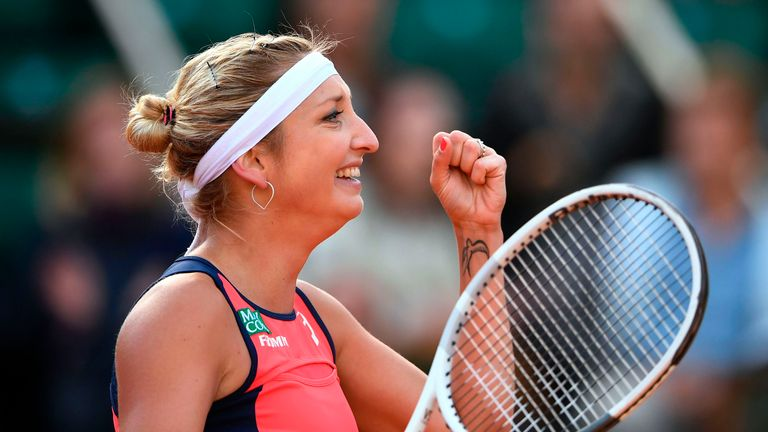 French Open final 'a nice gift' for Ostapenko