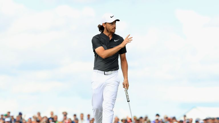 US Open golf won by Brooks Koepka in record-matching score