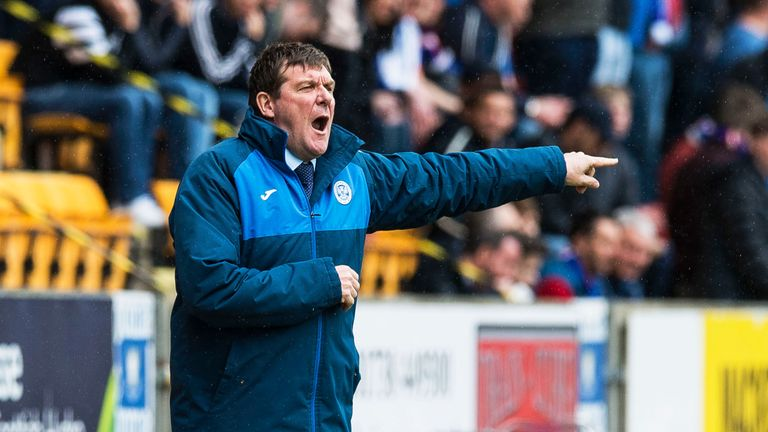 Tommy Wright's St Johnstone will face Lithuanian side Trakai