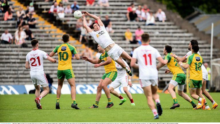Tyrone beat Donegal 1-12 1-21 in the Ulster GAA Football Senior Championship Semi-Final