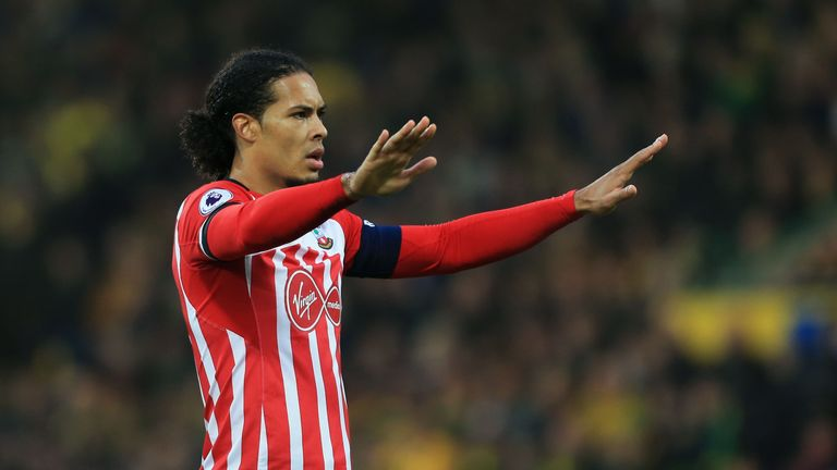 Virgil van Dijk will not feature again for Southampton
