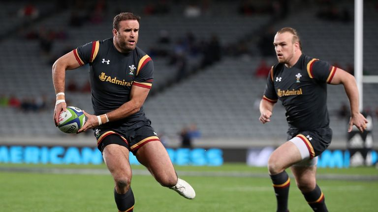 Double for Evans as Wales beat Samoa
