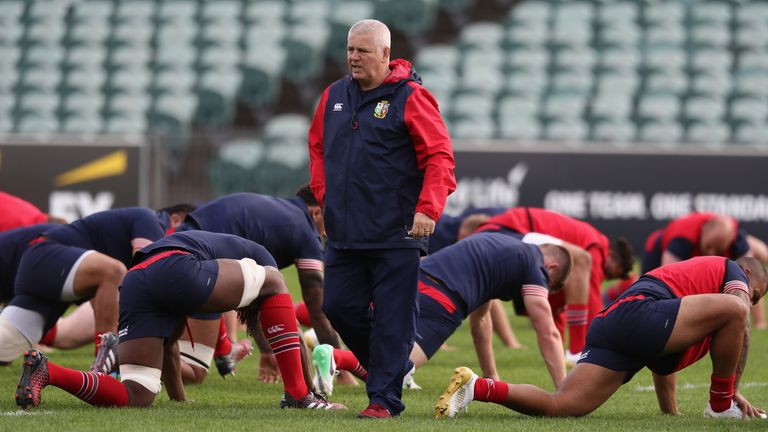 Warren Gatland shuffles the deck and keeps his promise