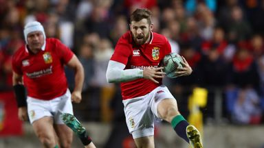Elliot Daly will start ahead of George North on Saturday against the All Blacks, live on Sky Sports