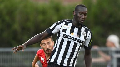 Famara Diedhiou scored eight goals for French Ligue 1 side Angers last season