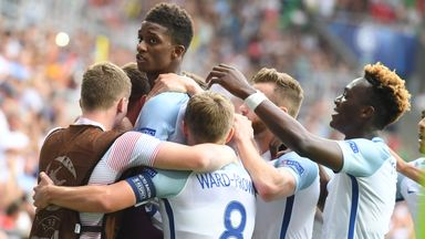 Demarai Gray (C) is one England U21 player hoping for more game-time in the Premier League next season