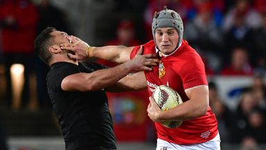 Jonathan Davies caused problems for the All Blacks in the midfield