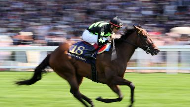 Lady Aurelia on her way to winning the King's Stand Stakes last year