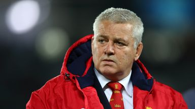 Warren Gatland says he would want to 'fix' his pride if he was one of the Lions players