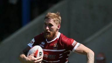 The Wigan full-back has returned to the field following a period of injury