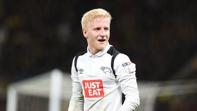 Will Hughes has joined Watford on a five-year contract