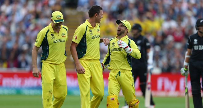 Australia had to settle for a draw with New Zealand in Birmingham after bad weather