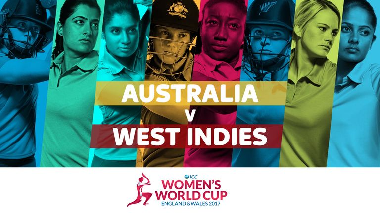Australia take on West Indies in the ICC Women's World Cup