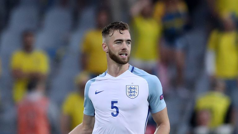 Calum Chambers has helped England U21s keep two clean sheets in three games at Euro 2017